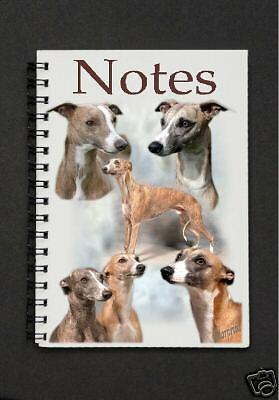 Whippet Notebook / Notepad Design No 2 By Starprint