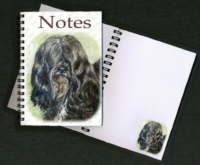 Tibetan Terrier Notebook / Notepad No 5SH By Starprint - Auto combined postage