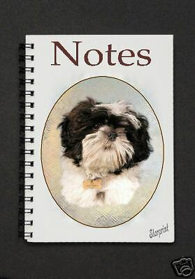 Shih Tzu Notebook/Notepad Design No 3 By Starprint - Auto combined postage