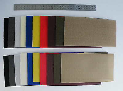 10/11cm Wide Coloured Hook & Loop. Fast Dispatch. UK stock