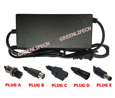 Electric Bike 48V 5A 20AH Lithium Battery Charger Ebike Scooter Li-ion Lifepo4