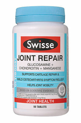 Swisse Ultiboost Joint Cartilage Repair Mild Osteoarthritis Relief 90 Tablets x2