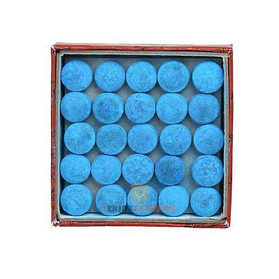 Box Of 50pcs Glue-on Pool Billiards Snooker Cue Tips Stick Accessories 10mm