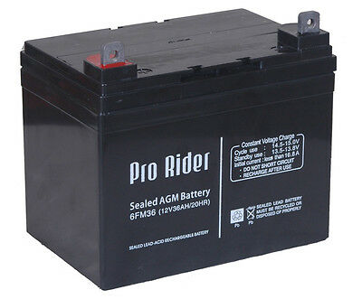 12V 10 12 33 36 50 55 72Ah Agm Battery Mobility Scooter