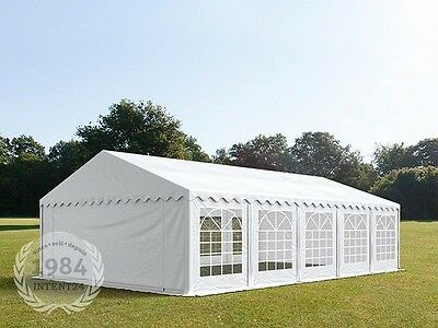 6x10m Heavy Duty PVC Marquee, Bolt Steelconstruction, Wedding Party Tent, white