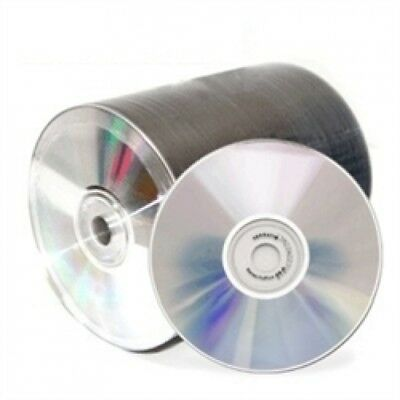 500 Spin-X Diamond Certified 48X CD-R 80min 700MB Shiny Silver