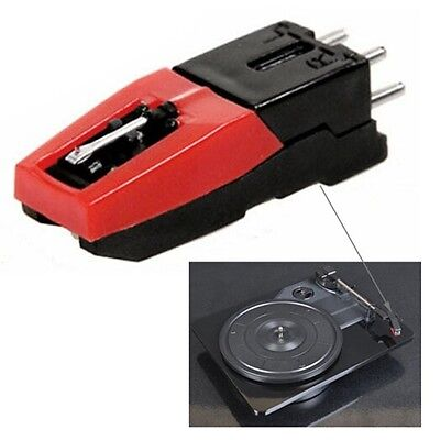 Turntable Phono Cartridge w/ Stylus Replacement for Vinyl Record Player LE
