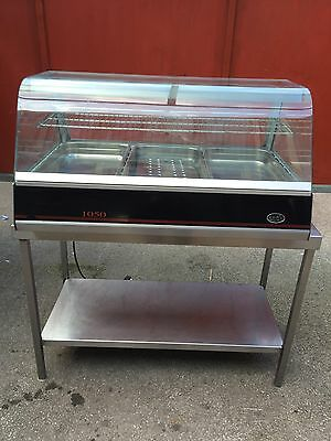 Lincat Heated Display Cabinet Food  Pie Chicken Warmer Showcase Commercial