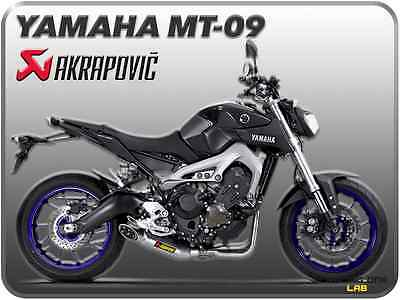 akrapovic s y9r3 haft yamaha mt 09 tracer 2014 scarico. Black Bedroom Furniture Sets. Home Design Ideas