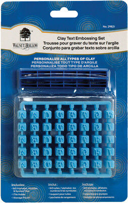 Clay Text Embossing Set  29821