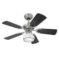"Princess Radiance II 36"" Westinghouse Traditional Ceiling Fan with Light"