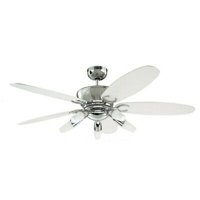 "Arius 52"" Westinghouse Chrome Ceiling Fan with Lights & Remote"