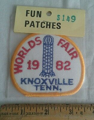 Vintage 1982 Worlds Fair Patch Knoxville Tennessee