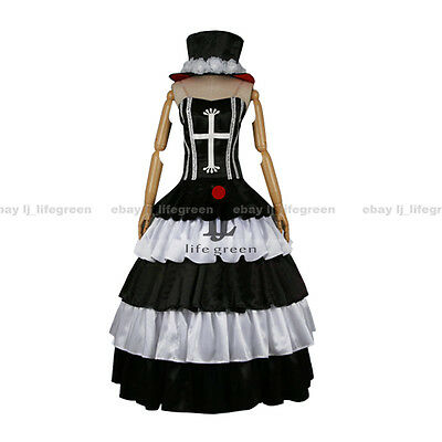 One Piece Perona Two Years Later Dress Cosplay Costume Uniform Cos Clothes Cloth