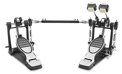 Xdrum Professional Double Bass Twin Drum Pedal Kick Drum Double Chain Drive New