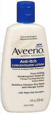 AVEENO Lotion Anti-Itch Concentrated 4oz ***