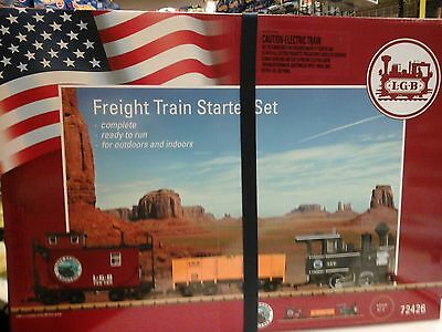 Lgb G Scale Freight Train Set 72426