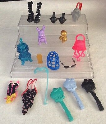 Monster High Dolls Accessories LOT Dustin Secrets Bathing Suits Shoes Sunglasses