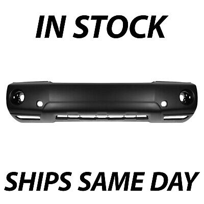 New Primered - Front Bumper Cover Replacement For 2004-2007 Toyota Highlander