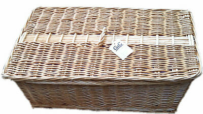Wicker Pet Coffin/casket Memorial Casket Lined  Buy 2 Get 2Nd 50% Off