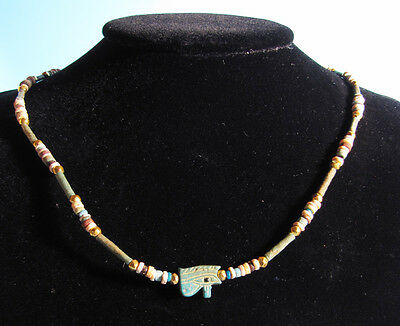 Egyptian Wedjat Eye Necklace - Ancient Art & Antiquities • CAD $1,256.40