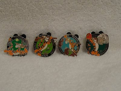 Disney Vintage Sports Tigger Cast Lanyard Collection