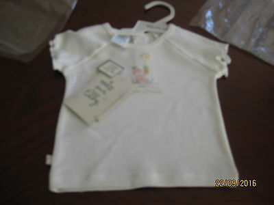Baby Top By Max And Tilly White  Size 000