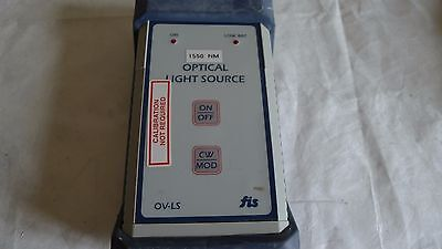 FIS 9054-0001 1550NM OPTICAL LIGHT SOURCE VERIFIER OV-LS Model # 9054-0000