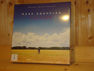 MARK KNOPFLER Tracker DELUXE LIMITED EDITION LP CD DVD BOX NEW SEALED