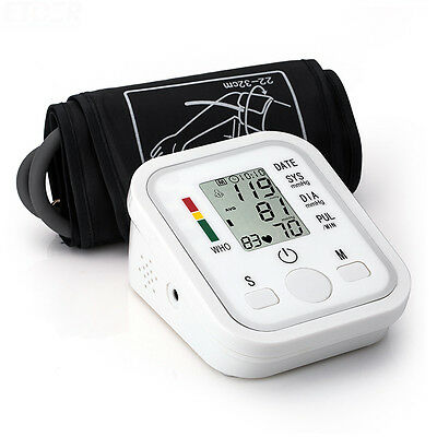 New Fully Automatic Upper Arm Digital Blood Pressure monitor Pulse Monitor