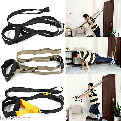 Yoga Fitness Band Hanging Belt Tension Pull Rope Home Training Fitness Equipment