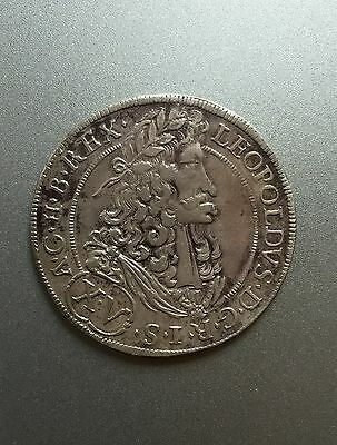 Austro-Hungarian Thaler Leopold 1691 /229/
