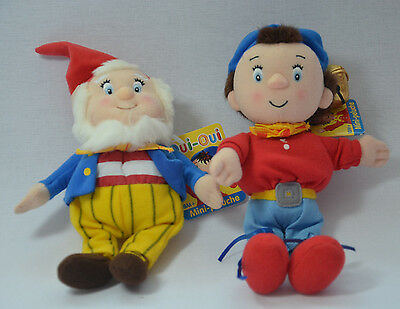 Noddy & Big Ears Enid Blyton Toyland Plush Toy Approx 8 Inches. NEW WITH TAGS