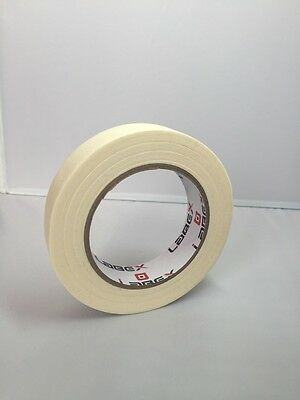 1 Roll Labex High Quality Low Tack Multi-Purpose Masking Tape 25mm x 50m 1""