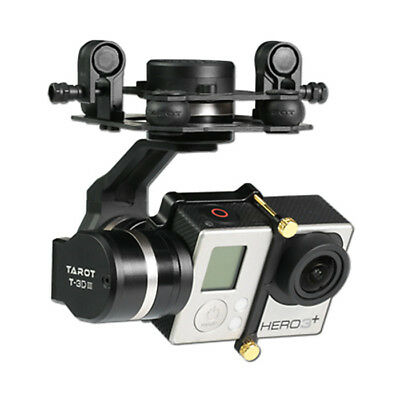 Tarot TL3T01 3D Generation 3 Metal 3 Axis Gimbal for Canon GoPro Hero3 /3plus/4