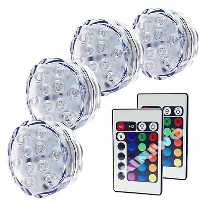 Multi Remote Underwater LED Color Swimming Pool Wall Light Show Decor
