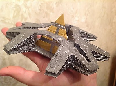 Stargate SG-1 Goauld Big Hatak Painted Assembled