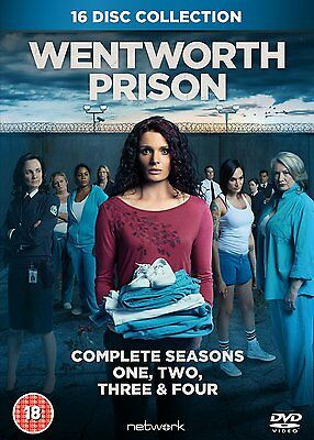 Wentworth Prison: Complete Seasons One, Two, Three & Four (Box Set) [DVD]