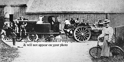 Photo Of A Locomotive Being Towed Near Hunston For Delivery West Sussex Railway