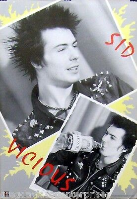 Sid Vicious 24x35 Collage Poster 1988 Sex Pistols