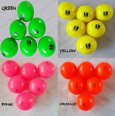 Cricket Wind Balls Orange Pink Yellow Green Senior 5.5Oz Pack Outdoor Training