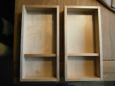 2x schubladeneinsatz holz ikea f r bad b ro eur 9 50 picclick de. Black Bedroom Furniture Sets. Home Design Ideas