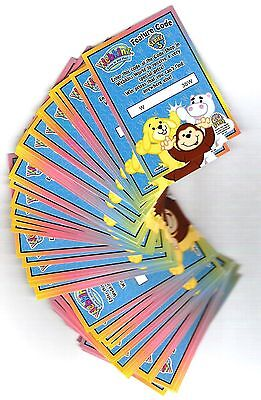 Webkinz Code Cards 57 Total Authentic Un-Used And Un-Tampered Code Cards