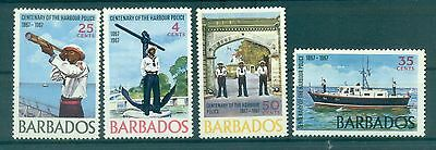 FORCES MILITAIRES - MILITARY FORCES BARBADOS 1967 Harbour Police Centenary