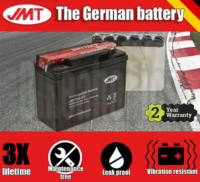 Premium JMT Maintenance free battery - YTR4A-BS- Honda SFX 50 - 1996