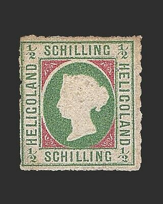 Vintage:heligoland-German 1867 Og  Mhr  Scott #1 $325 Lot #1867W16