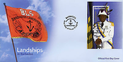Barbados 2016 FDC Landships of Barbados 1v M/S Cover Parades Dance Stamps