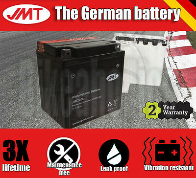 JMT Maintenance free battery- Harley Davidson FLHRI 1450 EFI Road King - 2005