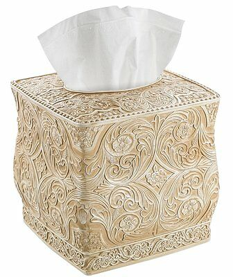 Creative Scents Square Tissue Holder - Decorative Tissue Box Cover is Finished i