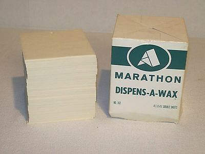 "Waxed Paper Sheets/Patty Paper 4½"" X 4½"""